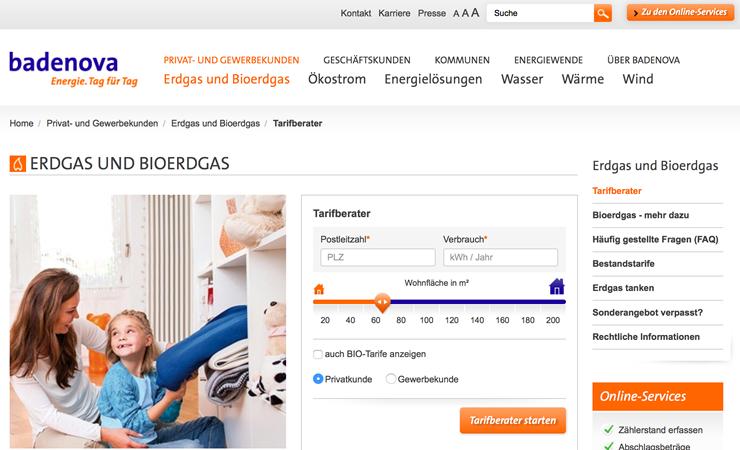Badenova Aktionscode schnell und einfach Strom erhalten